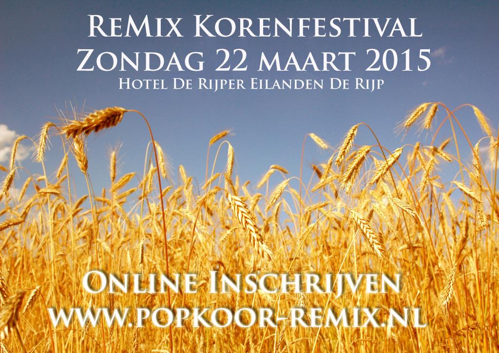 ReMIx korenfestival inschrijving