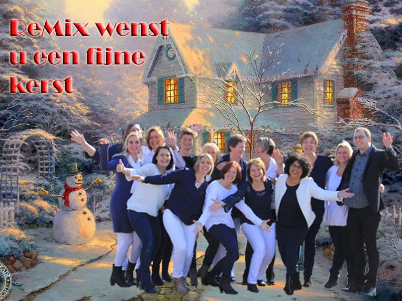 ReMix kerst landschap