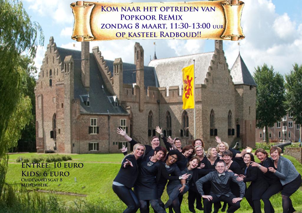 ReMix naar Kasteel Radboud